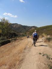 Wanderweg nach Molinaseca