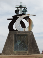 Denkmal am Monte de Goza