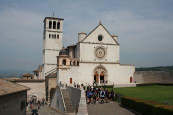 Die Franziskus-Basilika von Assisi