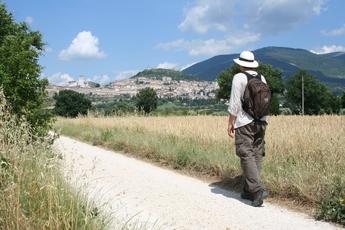 Auf dem Weg nach Assisi