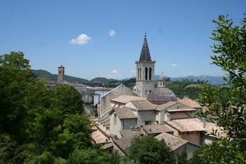 Ausblick auf Spoleto