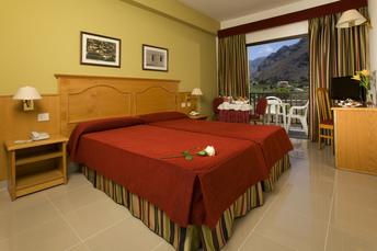 Ein Zimmer im Hotel Gran Rey