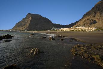 Valle Gran Rey mit Strand und Hotel