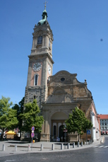 Die Georgenkirche in der Altstadt von Eisenach ist nur eine von vielen Sehenswürdigkeiten!