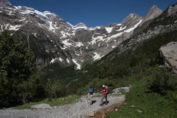 Wandern im Pineta-Tal (Östl. Ordesa-Nationalpark)