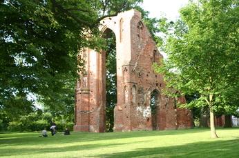 Die Klosterruine von Eldena