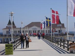 Seebrücke auf Usedom