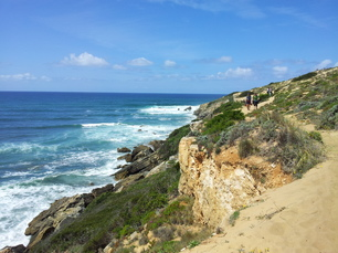 Entlang der Küste kurz vor Vila Nova de Milfontes