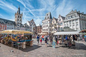 Der Hauptmarkt von Trier