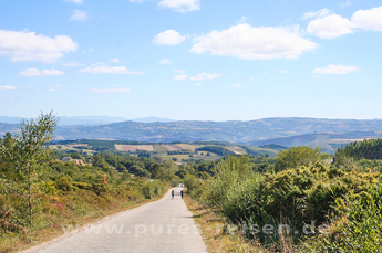 Auf dem Jakobsweg von Portomarín nach Lestedo und Palas de Rei